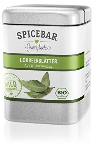 Spicebar Lorbeerblätter, aus Wildsammlung in Bio Qualität (1 x 5g)
