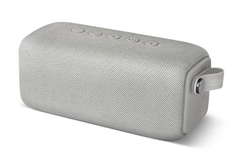 Fresh 'n Rebel ROCKBOX Bold M Altavoz inalámbrico portátil con Bluetooth, Resistente al Agua IPX7, Ice Grey