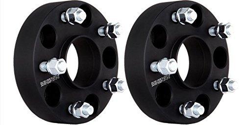ECCPP 2x 25mm 5 lug Hubcentric Wheel Spacers 5x4.5 to 5x4.5 5x114.3mm to 5x114.3mm M12x1.25 1' for Ni-ssan 370Z 300ZX Altima for Infiniti 350Z FX35 G35 G37 I30 I35