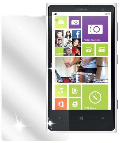 dipos I 2x Pellicola Protettiva Compatibile con Nokia Lumia 1020 Pellicola di Protezione Cristallo