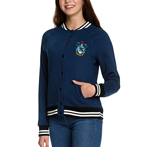 Harry Potter Ladies College Chaqueta Ravenclaw Coat of Arms Elbe Forest Blue - XL