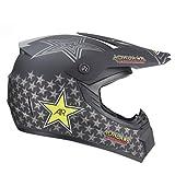 Cascos para hombre Full Face Night Vision MTB Cascos integrales Motocross Cascos Amazon Motocross Cascos Youth Motocross Helmet Stickers