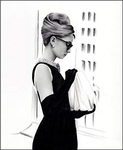 4Good Epictures Audrey Hepburn Poster A3 und A4 Breakfast at Tiffany´s Bild Bilder Set Wohnzimmer Schlafzimmer WBE2-A3