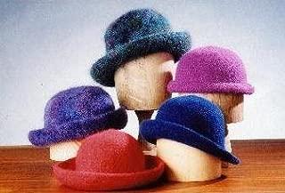 Crocheted Felt Hats Pattern (AC-11)