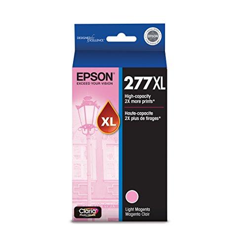 Epson T277XL620 Claria Photo Hi-Definition Light Magenta High Capacity Cartridge Ink