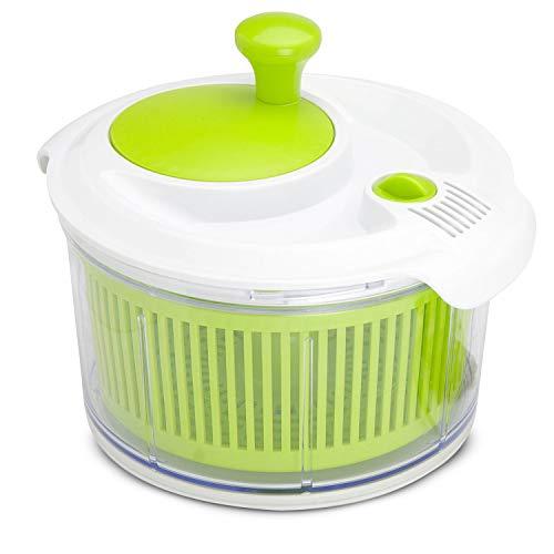 Mini lavafrutta e centrifuga da 16,5 cm in plastica Verde