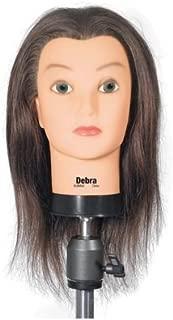 Celebrity Debra Cosmetology Human Hair Manikin, 17-19 Inch