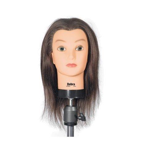 Celebrity Debra Cosmetology Human cheap 17-19 Inch Manikin Hair List price