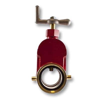 "Brass 2 1/2"" Fire Hydrant Gate Valve from FireHoseDirect"