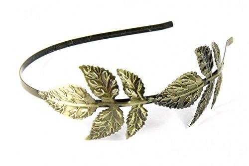 Miniblings hairband 2 hojas Haarreif accesorios para el cabello el romance de la cuchilla de bronce de dos - hecho a mano joyería de moda I clips de los clips accesorios para el cabello pelo del pelo