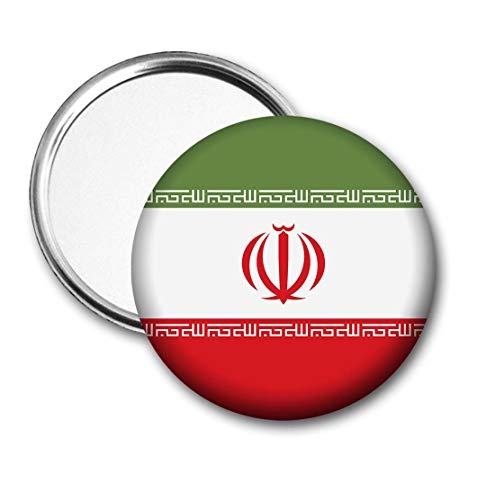 Iran Vlag Pocket Spiegel voor Handtas - Handtas - Cadeau - Verjaardag - Kerstmis - Stocking Filler - Secret Santa