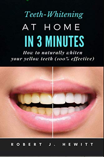 Teeth whitening at home in 3 minutes: How to naturally whiten your yellow teeth(100% effective)