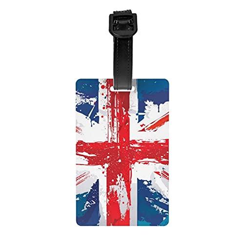 Bandera Nacional Inglaterra Día de la Independencia Etiqueta Personalizada Varios Viajes Maletas Etiquetas Negocios ID Titular de la Tarjeta de Identificación