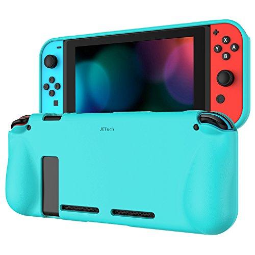 JETech Funda para Nintendo Switch 2017, Carcasa de Protección, Anti-Choques/Arañazo, Azul