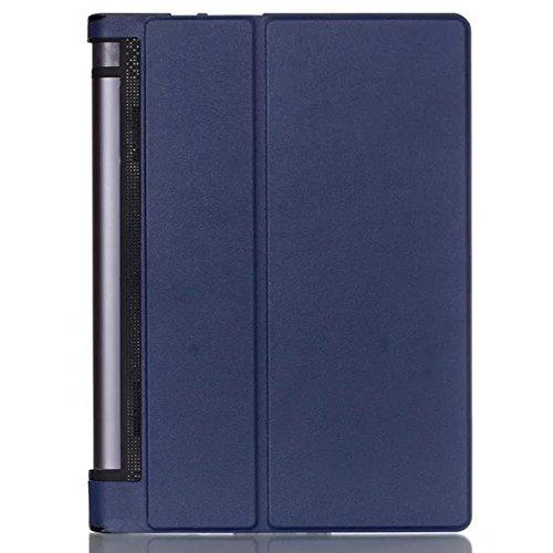 Juego de fundas para Lenovo YOGA Tab 3 YT3-X50F 10.1 pulgadas Funda Etui Tablet Funda Smart Cover Funda plegable de piel