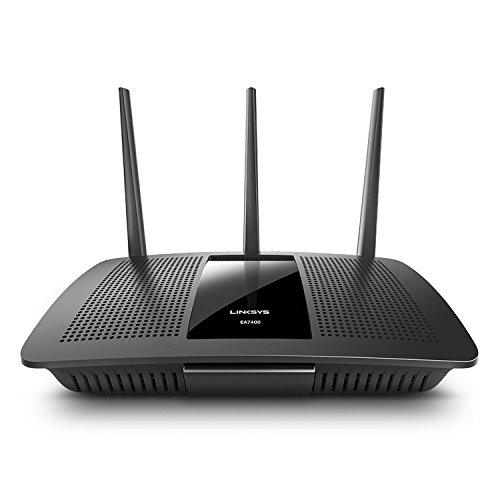 Linksys MAX-STREAM AC1750 Next Gen AC MU-MIMO Smart Wi-Fi Router (EA7400)