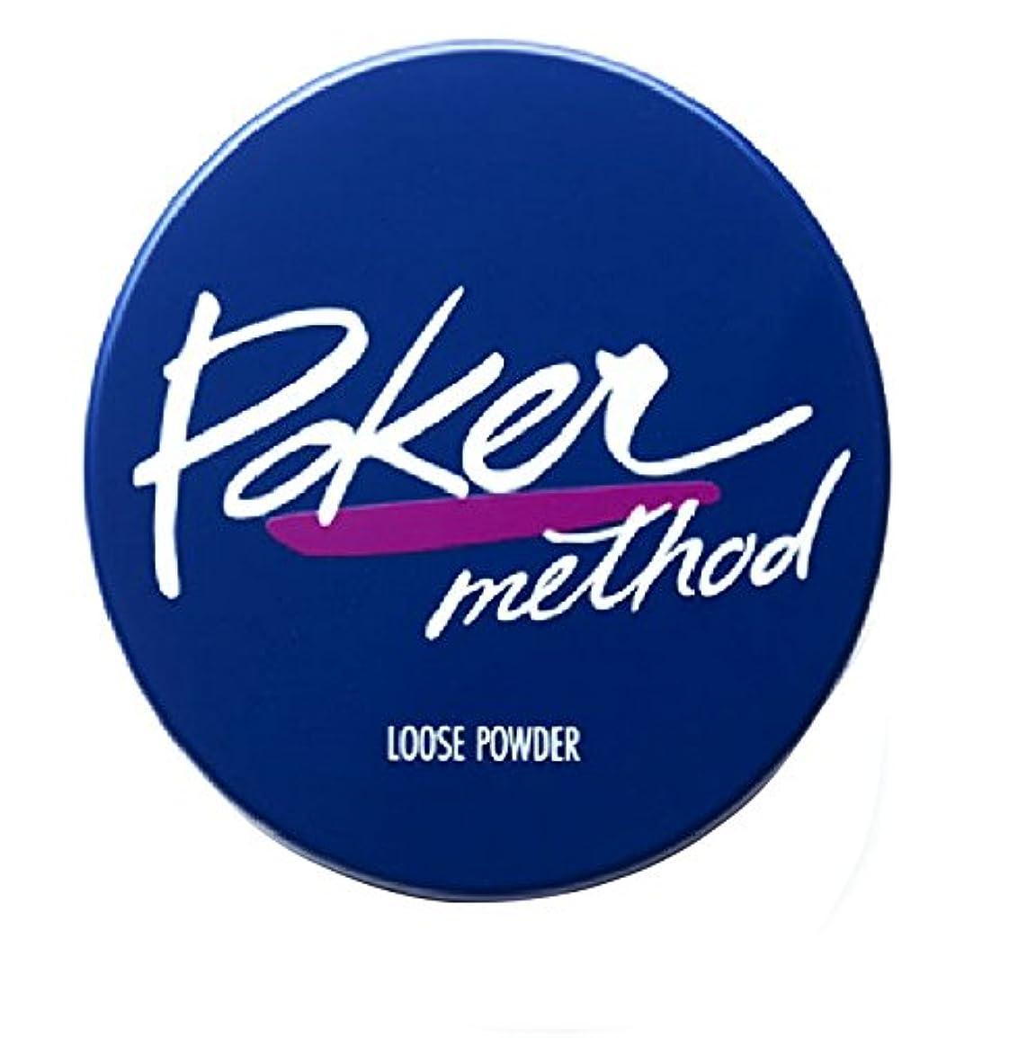 夕暮れ寄り添うこするPoker Method(ポーカーメソッド) オイルインルース ファンデーション 18G
