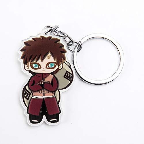 VAWAA Anime Figur Für Frauen Männer Süße Acryl Anhänger Schlüsselanhänger Schlüsselanhänger Für Key Ninja Fans Kinder Geschenk