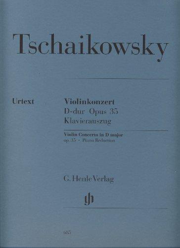 TCHAIKOVSKY - Concierto Op.35 en Re Mayor para Violin y Piano (Urtext)