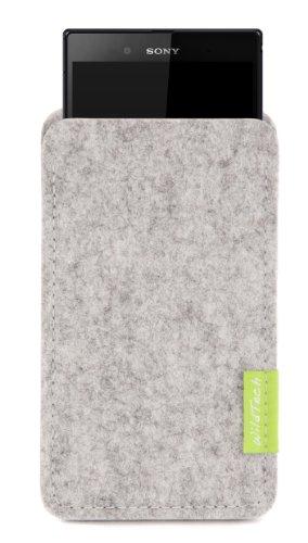 WildTech Sleeve für Sony Xperia XA Ultra / Xperia C5 Ultra Hülle Tasche - 17 Farben (made in Germany) - Hellgrau