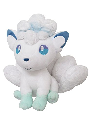 Sanei Boeki Pokemon All Star Collection PP61 Alolan Vulpix Plüschtiere 19 cm