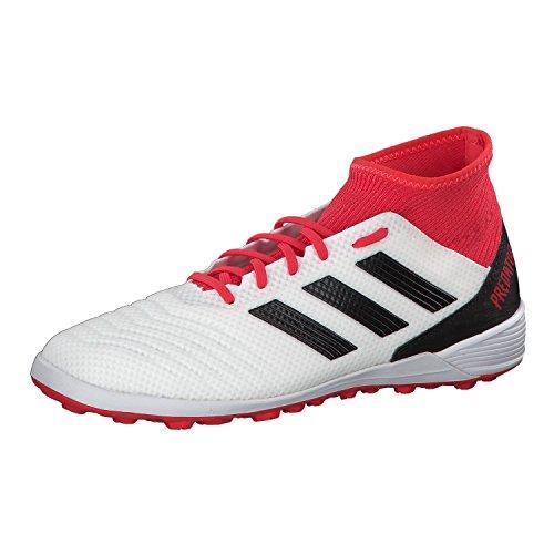adidas Herren Predator Tango 18.3 TF Fußballschuhe, Schwarz (FTWR White/core Black/real Coral S18), 46 EU