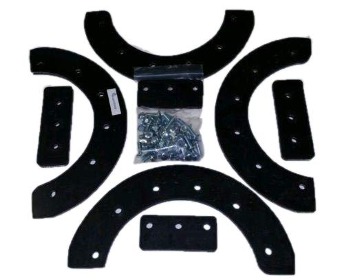 """MOWERMAN PARTS Snow Thrower Paddle Set 20,21 or 22"""" FITS Murray/Craftsman, 302565ma, Hardware Included! (68 pcs) Snow Blower Paddle Set"""