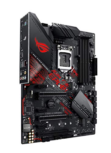 ASUS ROG Strix Z390-H Gaming Mainboard Sockel 1151 (ATX, Intel Z370, DDR4-Speicher, duale M.2 Anschlüsse, SATA 6Gbit/s, USB 3.1 Gen 2)