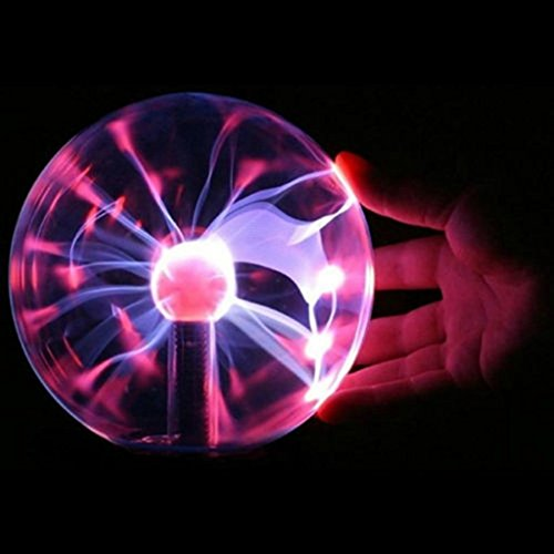 Plasma Magic Lighting Static Ball Electric Crystal Globe Sphere USB Operated Christmas Gift Party Lamp by Bluespider