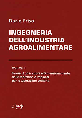 Ingegneria dell'industria agroalimentare: 2