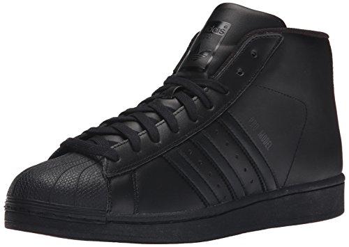adidas Promodel - Sneaker alte da uomo, Nero (nero, nero nero), 43.5 EU