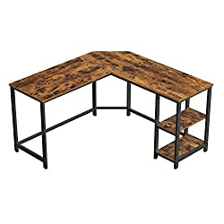 best top rated l shaped desks 2021 in usa