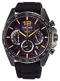 Seiko Neo Sports Reloj para Hombre Analógico de Cuarzo con Brazalete de Silicona SSB351P1