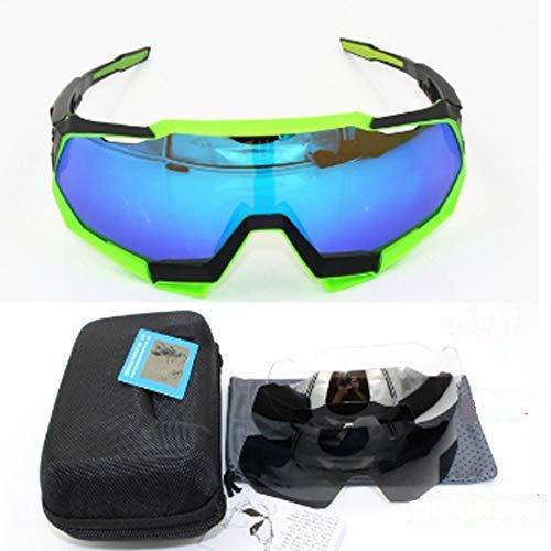 XXYQ Gafas de Sol Deportivas para Bicicleta polarizadas para Hombres Gafas de Ciclismo Bicicleta de montaña Eyewear-speedtrap_2