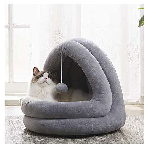 DMF Products Pet Waterloo Cat Tent, Cave Pet Bed Casa De Campaña Apto para Gatos O Perros Pequeños Y Medianos (Size : 42×40×38CM)