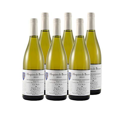 Meursault 1er Cru Genevrières Cuvée Baudot Weißwein 2011 - Hospices de Beaune - g.U. - Burgund Frankreich - Rebsorte Chardonnay - 6x75cl