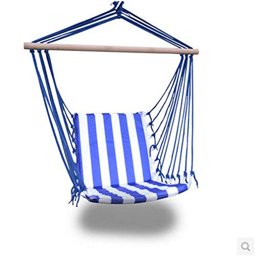 A/N Outdoor Hängesessel | Canvas Stripes Hanging Stoff Swing-Stuhl