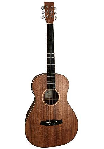Tanglewood Union TWU PE Parlour Elektroakustische Gitarre mit 20 mm Gigbag