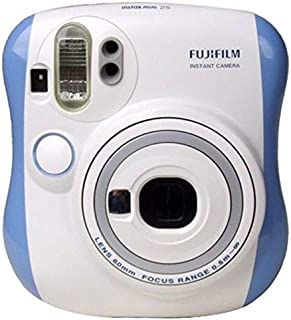 Fujifilm Instax Mini 25 Polaroid Camera - Blue/White