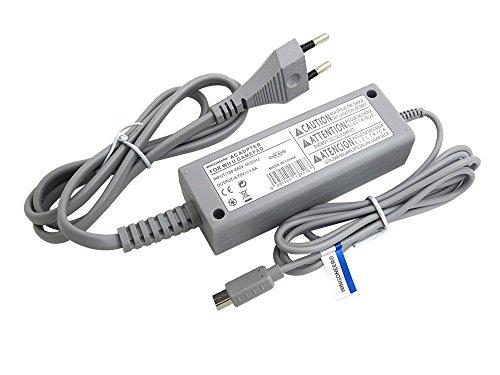 WINGONEER® câble de corde d'alimentation d'énergie d'adapteur à C.A. d'UE du wii u GamePad de Nintendo