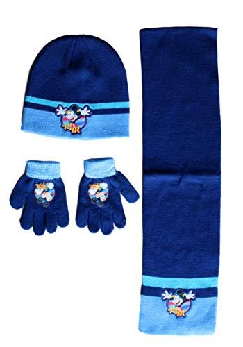 Mickey muts met handschoen en sjaal, set Disney Mouse