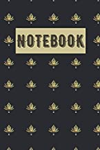 Notebook: Baroque lotus lily , to collect important note, (Premium notebook)