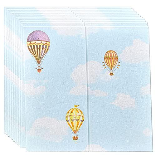 GL-GDD Paquete de 10 Paneles de Pared para pelar y Pegar Azulejos autoadhesivos para Bricolaje Papel Tapiz Impermeable anticolisión para cabecera de Dormitorio (52,7 pies Cuadrados),4