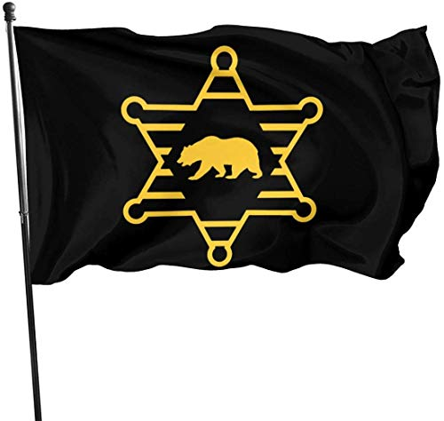 Ya Yi Feng Flagge Dekorative Hausflaggen Los Angeles County Flag Decorative Garden Flags Outdoor Artificial Flag for Home Garden Yard Decorations 3x5 Ft