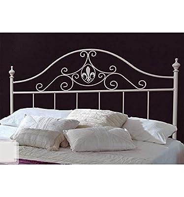 Cabecero para cama de 135 cm en hierro forjado a precio económico