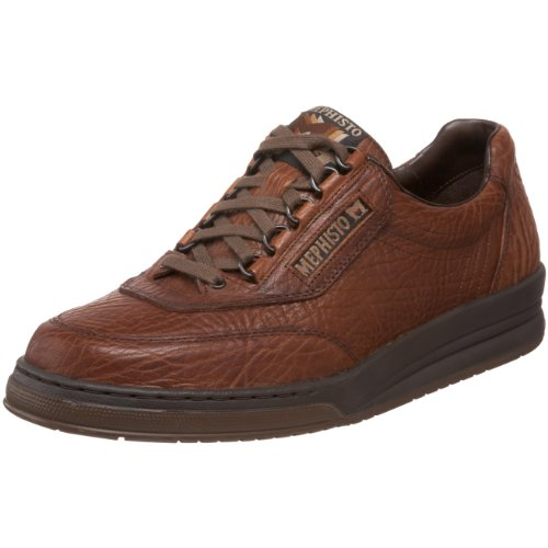Mephisto Men's Match Oxfords Shoes, 11 D(M) US, Tan Grain