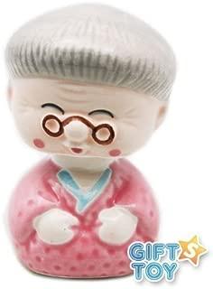 JapanBargain Grandma Porcelain Bobble Head