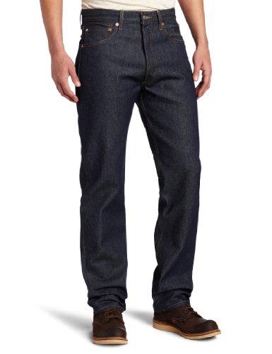 Levi's Men's 501 Original Fit Jeans, Rigid - STF, 34W x 34L