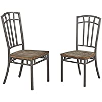 Set-of-2 Homestyles Barnside Metro Gray Dining Chairs (Driftwood)