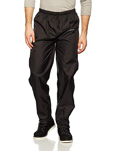Ferrino Zip Motion, Sovra Pantaloni Impermeabile Unisex, Nero, XL